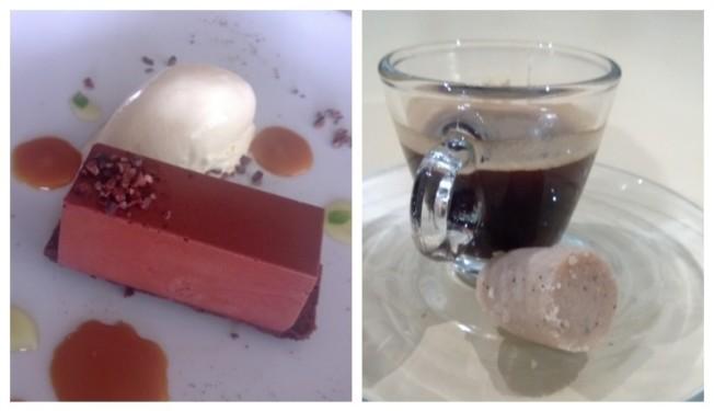 Chocolate, Cupuaçu e Castanha do Pará e o Café acompanhado de paçoca de castanha